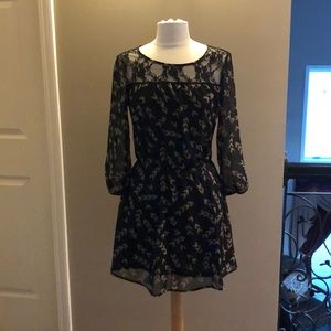 Babydoll Black Dress - size small
